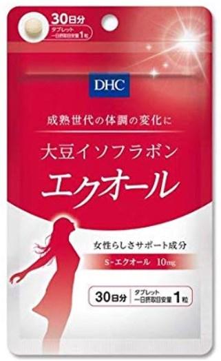 DHC大豆イソフラボンのパッケージ
